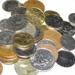 ein Haufen Münzen